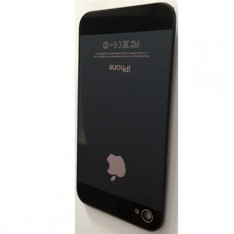 iPhone 5 Look bakstycke till iPhone 4S Svart