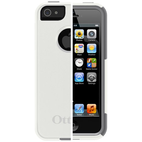 Otterbox Commuter Case for iPhone 5/5s Vit