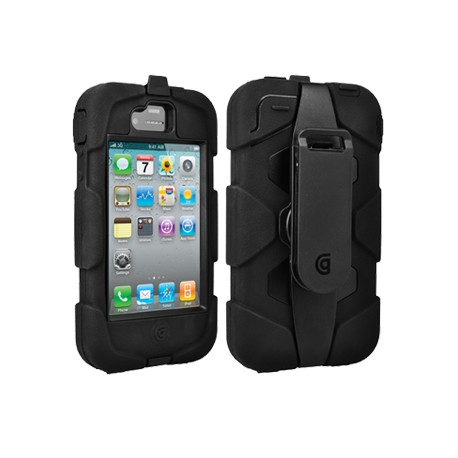 Griffin Survivor for iPhone 4 / 4s Svart