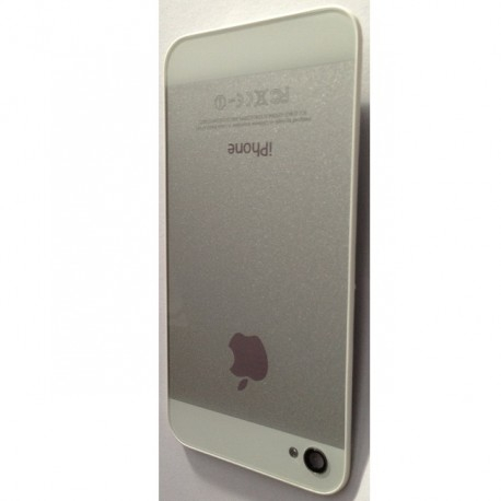 iPhone 5 Look bakstycke till iPhone 4 Vit