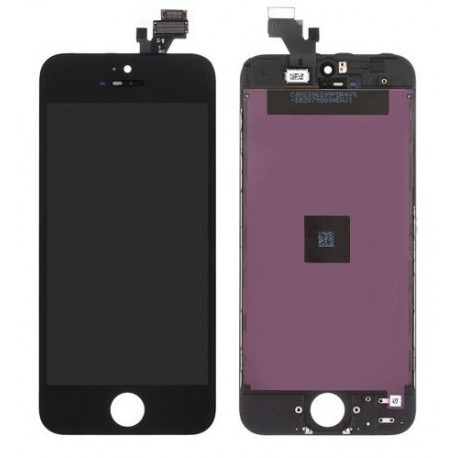 iPhone 5 Byte av LCD Display samt Glasbyte Svart CMR