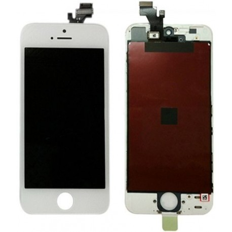 iPhone 5 Byte av LCD Display samt Glasbyte Vit CMR