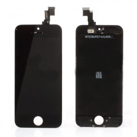 iPhone 5C Byte av LCD Display samt Glasbyte Svart CMR