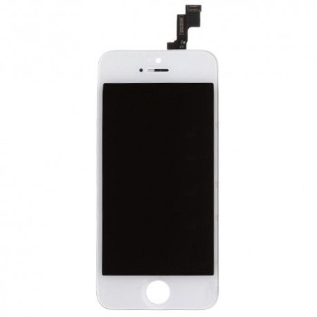 iPhone 5s, Byte av LCD Display samt Glasbyte Vit CMR