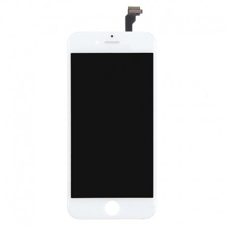 iPhone 6 Plus Byte av LCD Display samt Glasbyte Vit CMR