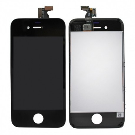 iPhone 4s Byte av Retina Display samt Glasbyte Svart